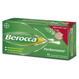 Berocca Performance Frutos Rojos 30 Comp