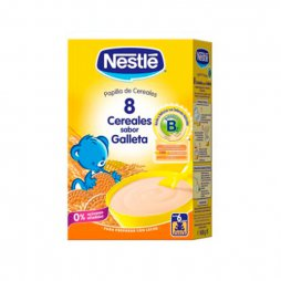 Nestle 8 Cereales sabor Galleta 600g