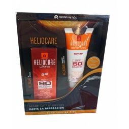 Heliocare Pack Spray 200ml + Gel Ultra 90