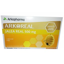 Arkoreal Jalea Real 500mg - 20 Ampollas