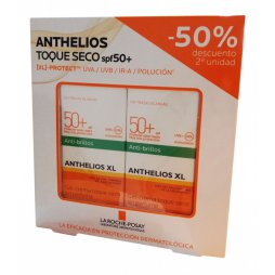 Anthelios Duplo Toque Seco SPF50+ 2x50ml