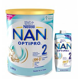 Nestle Nan 2 Optipro 800gr + Nan 2 Opt Liq. 500ml