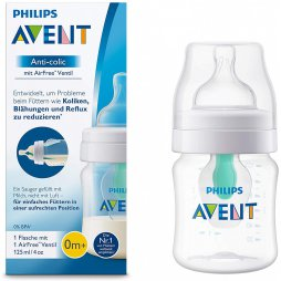 Avent Biberon Airfree +0M 125ml