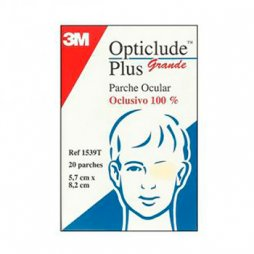 3M Parche Ocular Opticlude Grande 20uds